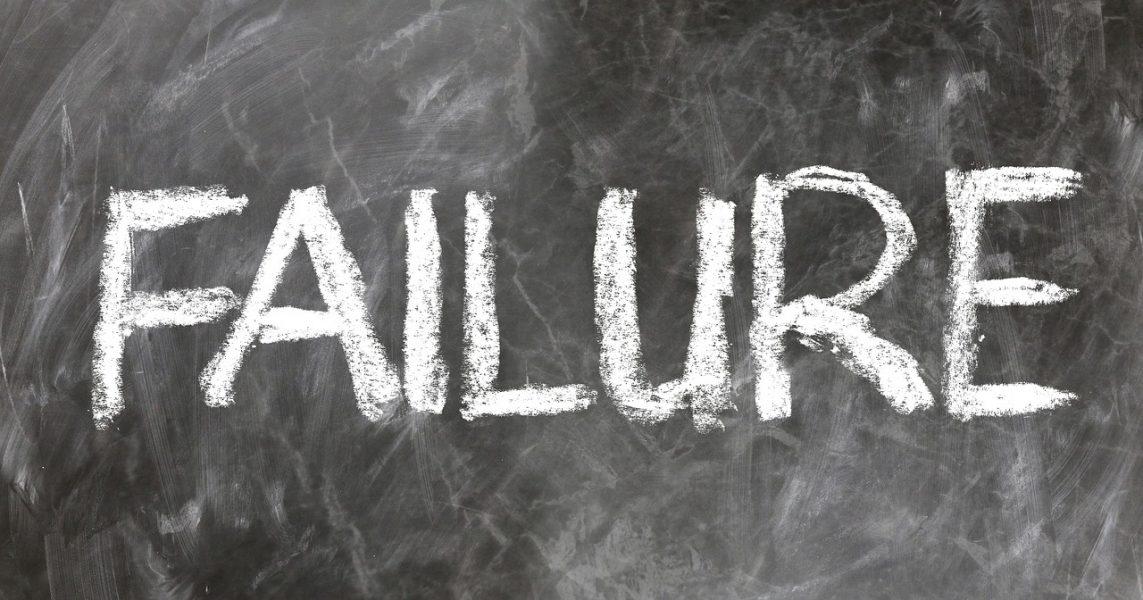 Scheitern an Finanzen